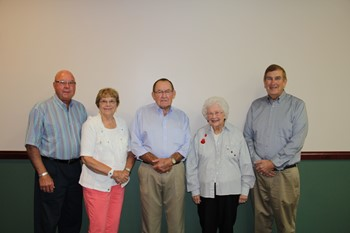 ESC Governing Board: Mr. Virgil Hohlbein, Mrs. Marilyn Weber, Mr. Daryl Amstutz, Mrs. Lillian McKibben and Mr. Bill Goecke